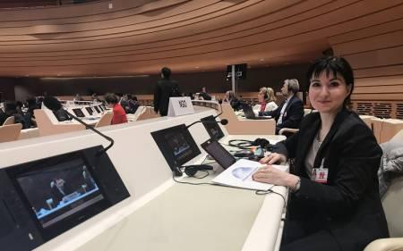 Представитель ГУМЭК выступила в Женеве на 22-й сессии Комиссии ООН по науке и технологиям в целях развития • Центр гуманистической экологии и культуры